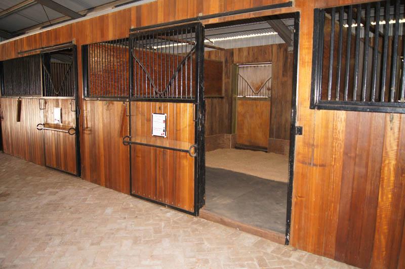 Indoor Horse Stables - McLaren Park Equestrian